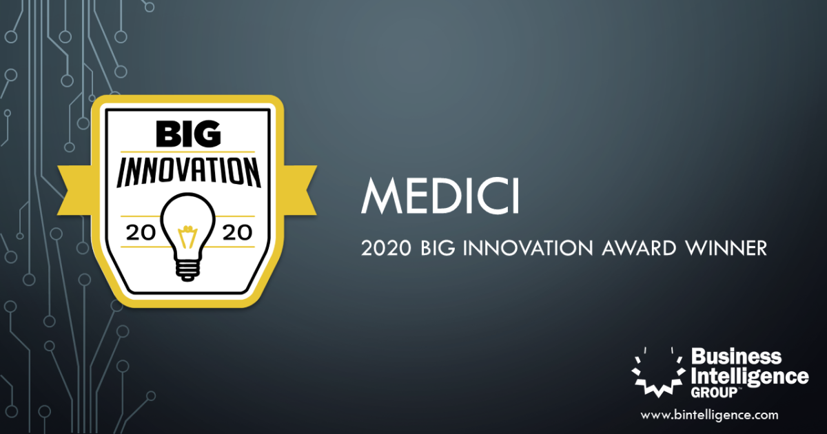 Medici Virtual Healthcare App Wins 2020 BIG Innovation Award