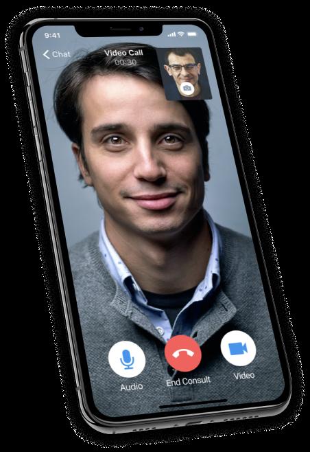 telemedicine video call